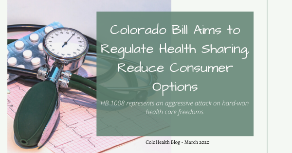 Colorado Bill Aims to Regulate Health Sharing, Reduce Consumer Options