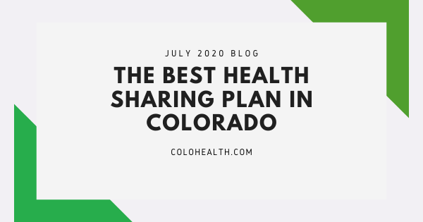 Best Health Sharing Plan in Colorado